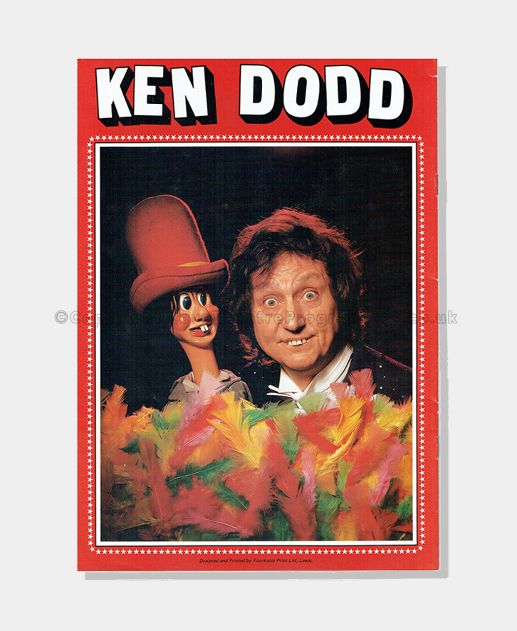 1980s - Ken Dodd - Signed Souvenir