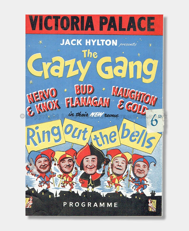 1952 Victoria Palace Crazy Gang