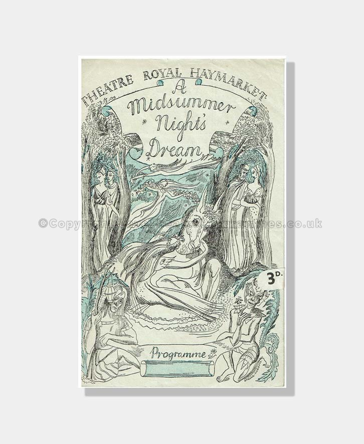 1945 MIDSUMMER NIGHT'S Dream Haymarket