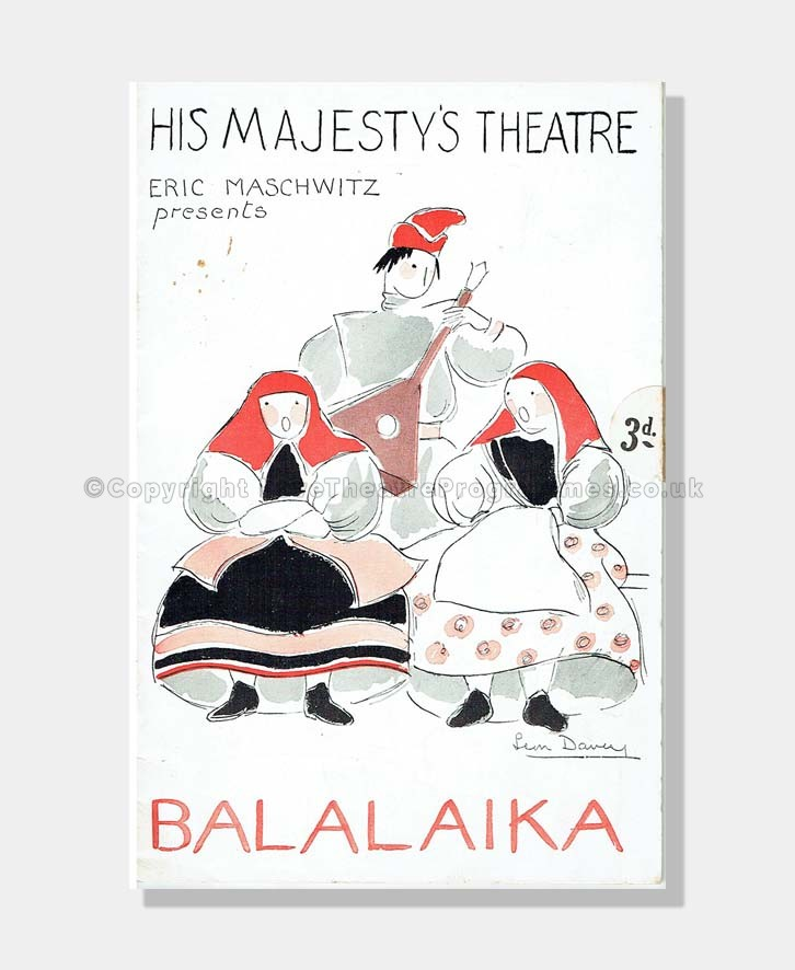 1937 BALALAIKA His Majesty's