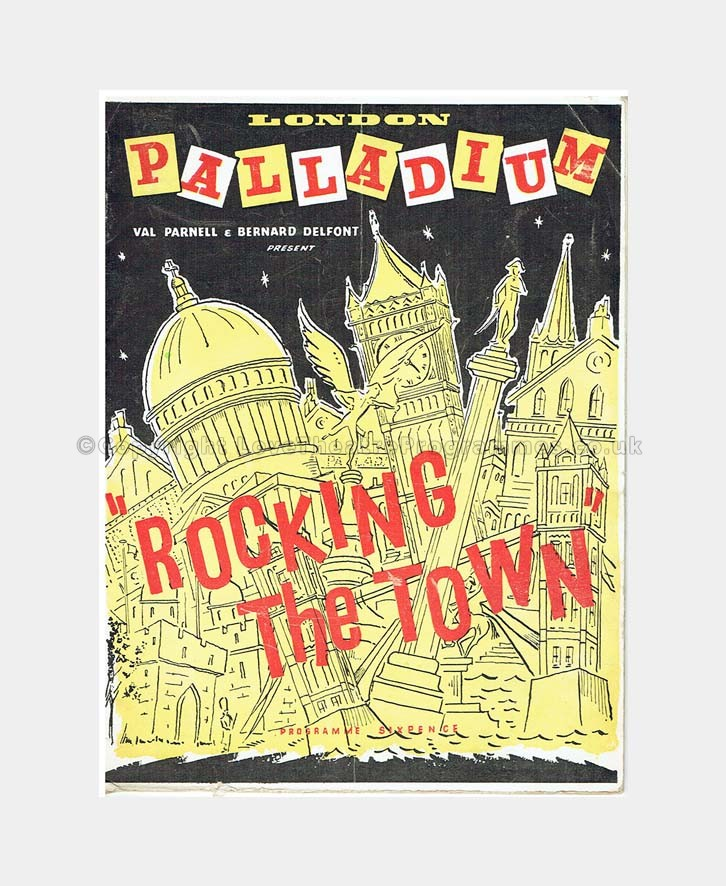 1956 ROCKING THE TOWN London Palladium