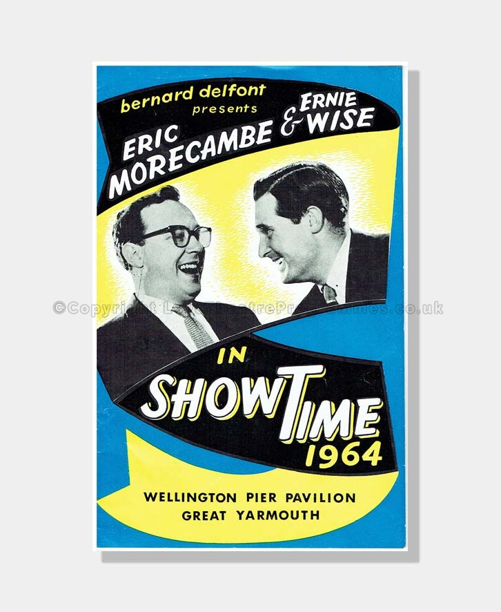 1964 SHOWTIME with MORECOMBE & WISE Wellington Pier Great Yarmouth