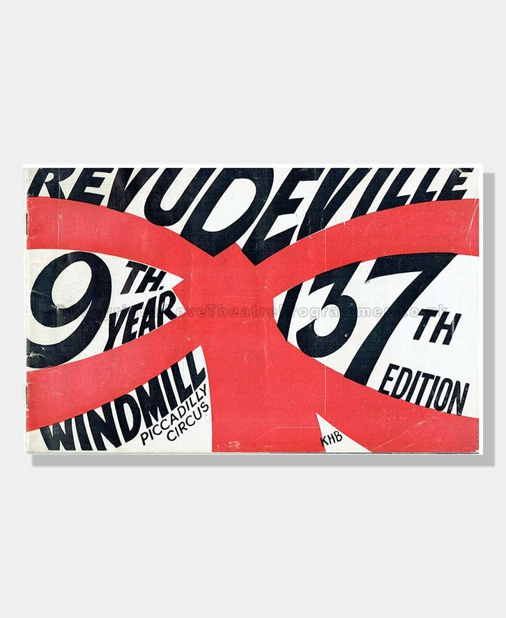 1940 REVUDEVILLE 137th Edition Windmill Theatre