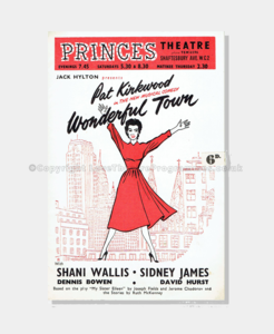 1955 - Princes Theatre - Wonderful Town