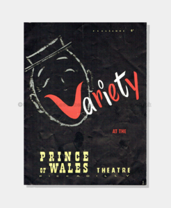 1956 - Prince of Wales Theatre - Variety