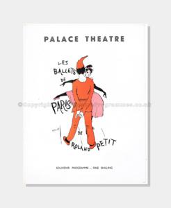 1956 Palace Theatre - Ballets De Paris