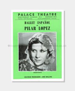 1957 - Palace Theatre - Ballet Pilar Lopez
