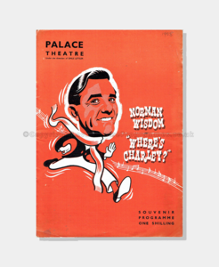 1958 - Palace Theatre - Where's Charley?