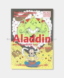 2001 s332000 Aladdin Signed