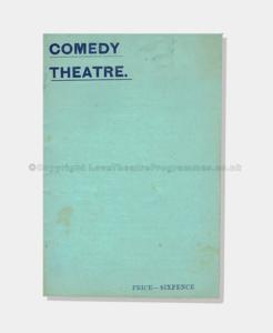 1901 WHEN WE WERE TWENTY-ONE Comedy Theatre pc61900 (1 crop) frame
