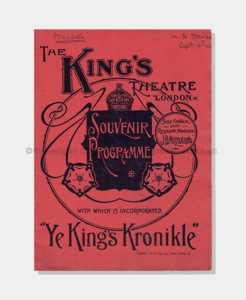 1903 MACBETH Kings Theatre 86161900 (crop) frame