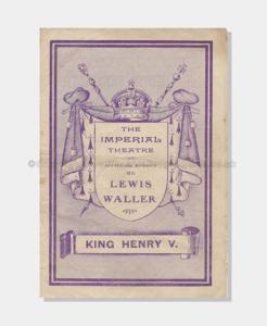 1905 Imperial King Henry V (1 crop) 7121900 frame