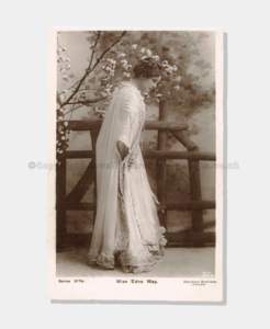 1907 Edna May PCEM009 (crop) frame