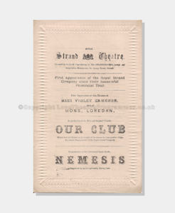 1878 Our Club 6121870 frame