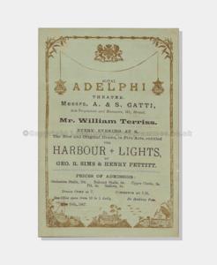 Love Theatre Programmes, 1887, The Harbour Lights