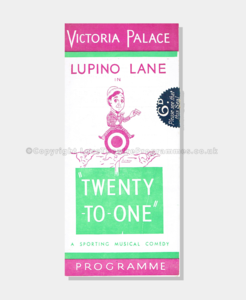 Love Theatre Programmes, 1943, Victoria Palace