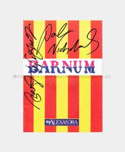 1991 - Alexandra Theatre - Barnum