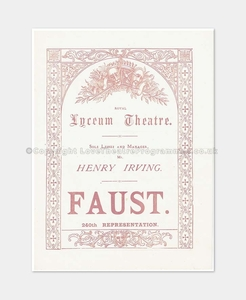 1886 FAUST Royal Lyceum Theatre 58161880 (1)
