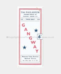 1941 GANGWAY The Palladium 661940 (1)