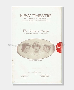 1926 THE CONSTANT NYMPH New Theatre
