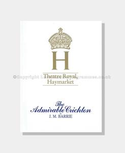 1988 THE ADMIRABLE CRICHTON Theatre Royal Haymarket
