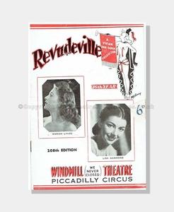 1947 REVUDEVILLE Windmill Theatre