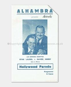 1947 HOLLYWOOD PARADE Laurel & Hardy