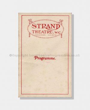 1913 MR WU The Strand