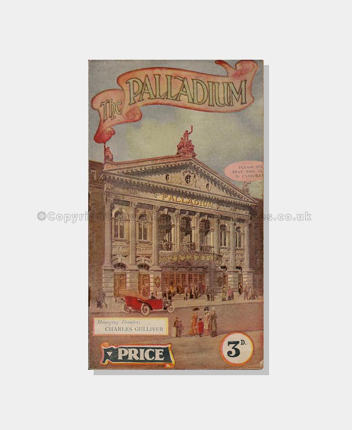 1916, The Palladium,