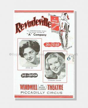 1951 REVUDEVILLE Windmill Theatre