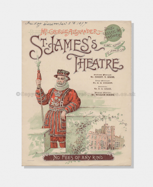 1897 - St James's Theatre - The Tree of Knowledge