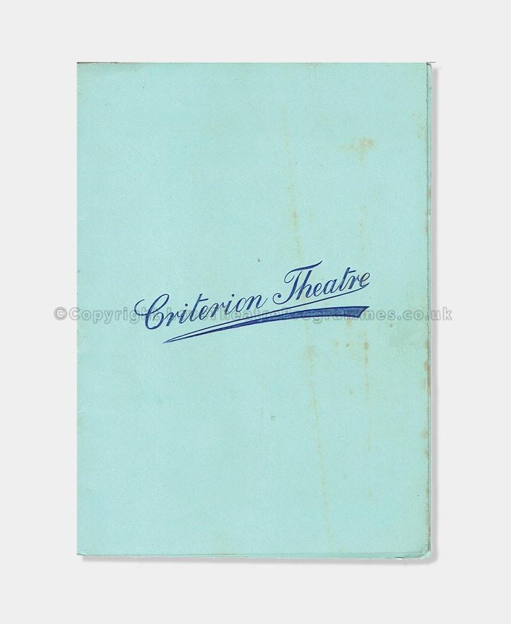 1901 - Criterion Theatre - Mamma