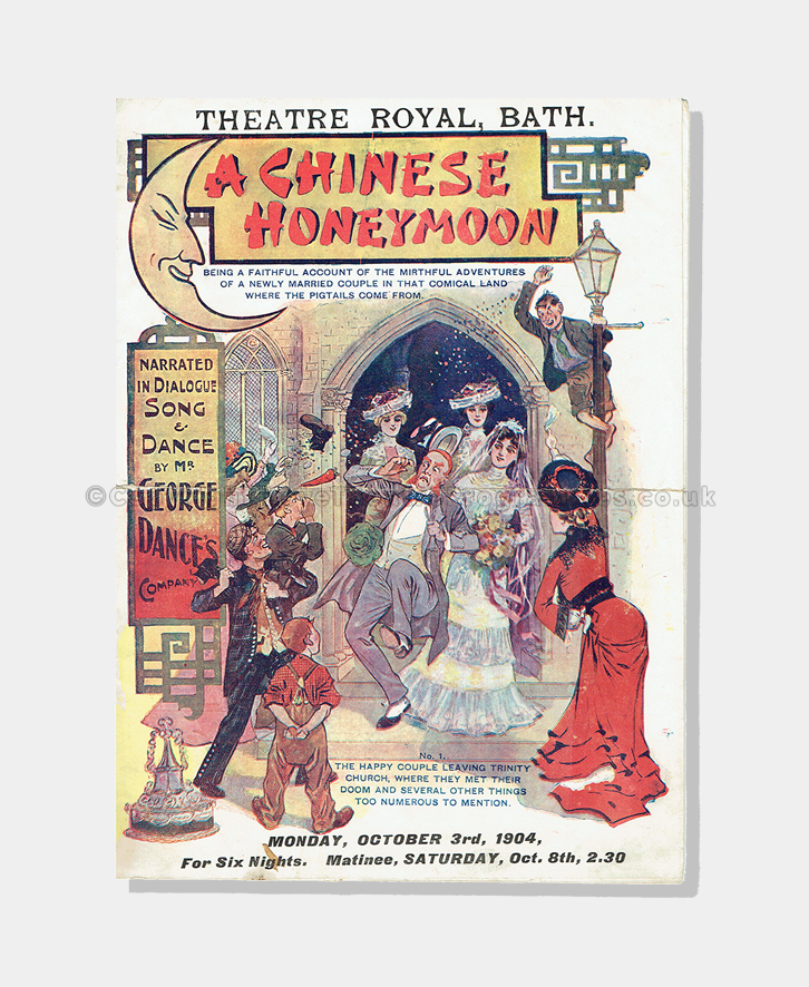 1904 - Theatre Royal Bath - Chinese Honeymoon