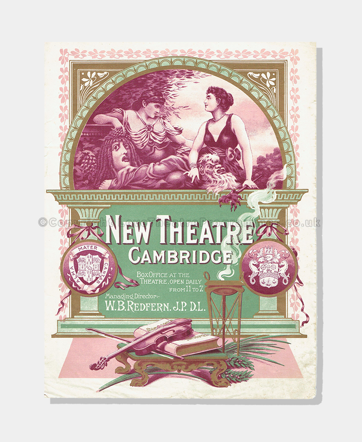 1904 - New Theatre, Cambridge - Belle of New York