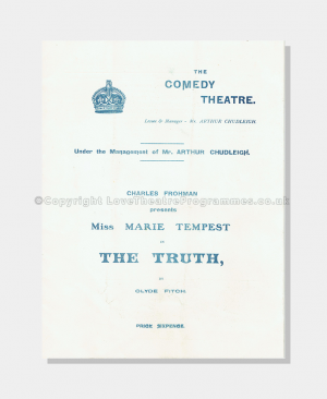 1907 - Comedy Theatre - Truth