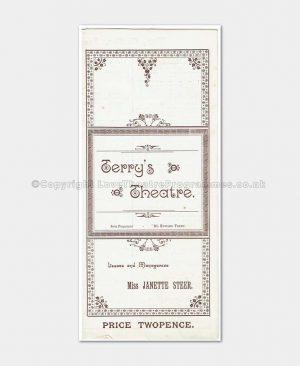 1893 - Terry's Theatre - Gudgeons