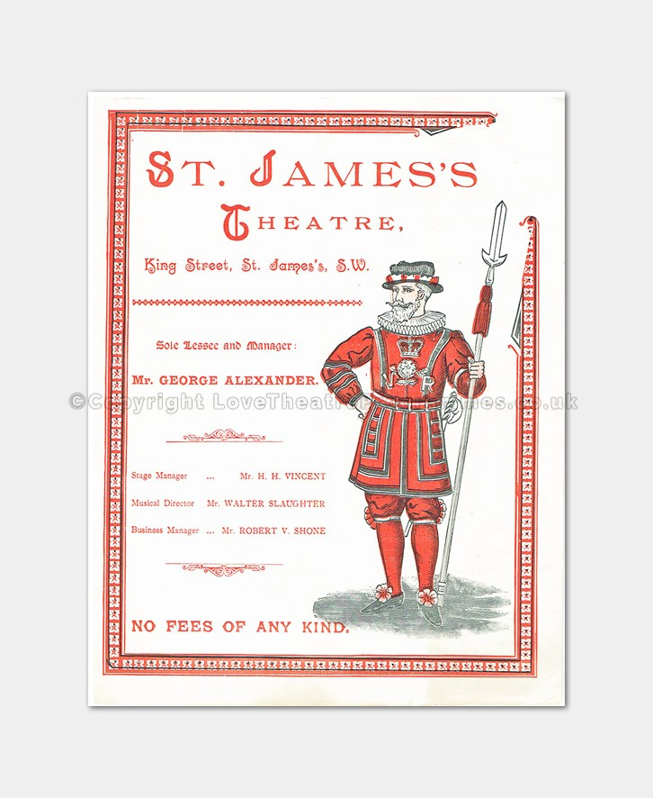 1894 - St James's - The Masqueraders
