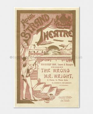 1899 - Royal Strand - The Wrong Mr. Wright