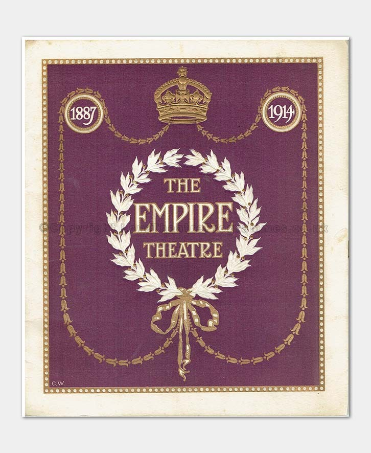 1914 - Empire Theatre - Variety