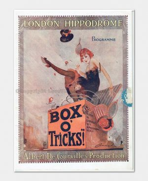 1918 - London Hippodrome - Box O' Tricks