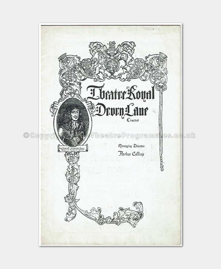 1919 - Theatre Royal Drury Lane - Il Trovatore