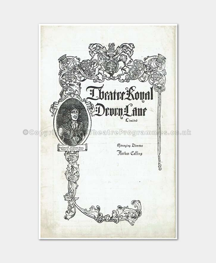 Drury Lane - The Daughter of Madam Angot