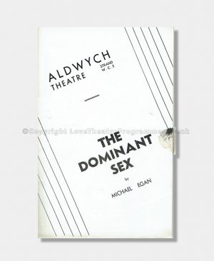 1936 - Aldwych Theatre - The Dominant Sex