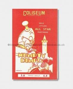 1943 Humpty Dumpty London Coliseum