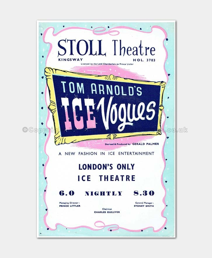 1946 ICE VOGUES Stoll Theatre
