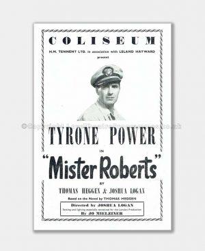 1950 London Coliseum, Tyrone Power
