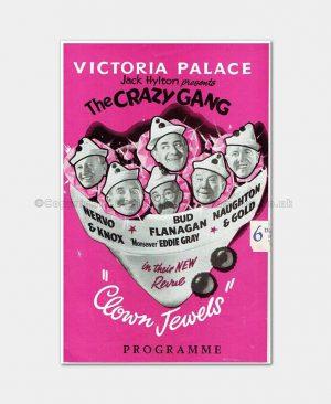 1959 Crazy Gang Clown Jewels