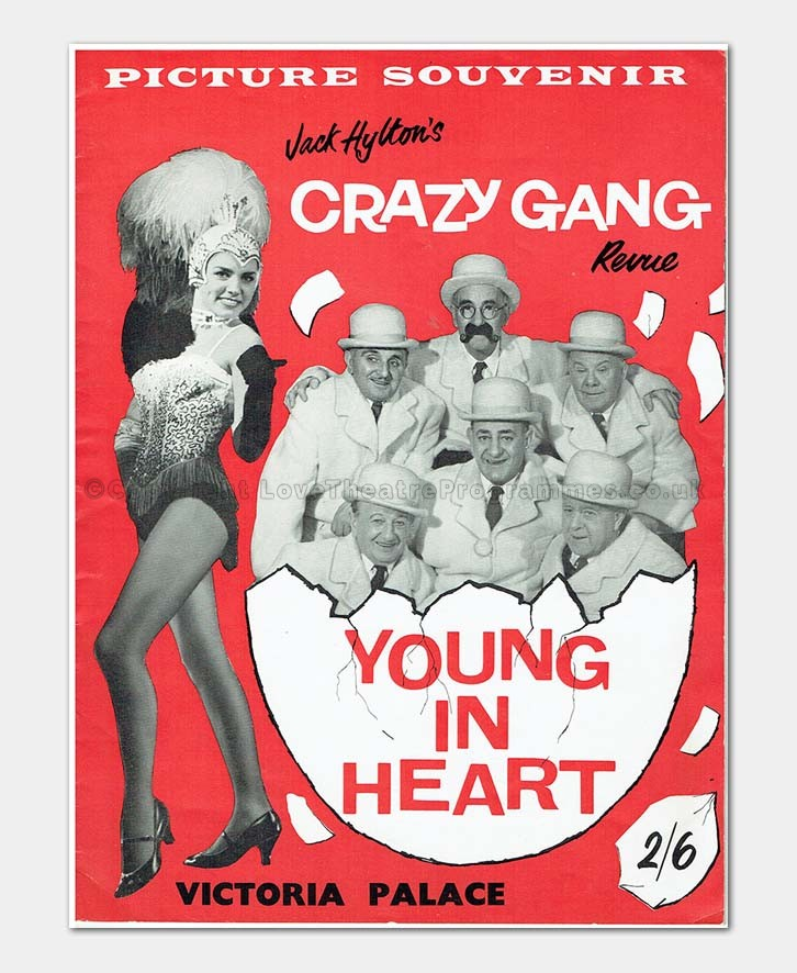 1960 Crazy gang Young In Heart Victoria Palace