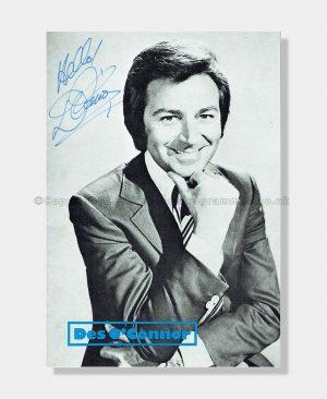 1972 Des O'Connor Signed