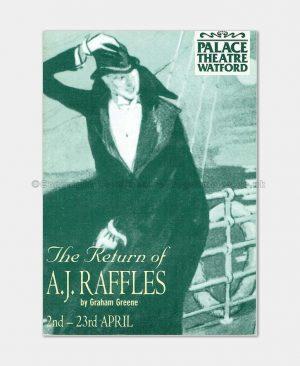 1994 Palace Theatre Watford, A.J.Raffles
